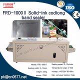 Sellador continuo de la venda de la codificación de la fecha de la Sólido-Tinta de Frd1000II para el bolso