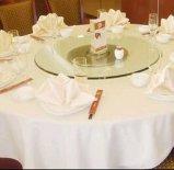 Hotel 100% algodón tapa de la mesa un mantel