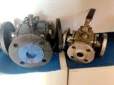 탄소 강철 Ce/ISO 정연한 플랜지 3 방법 공 벨브