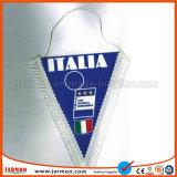 Custom футбольной команды Satin подарок флаг