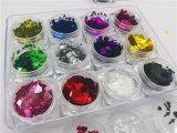 De haard & de Dwars Gemengde Zuivere Kleur schitteren voor Kunst en Schoonheid 12 van de Spijker van de Spijker de Verpakking van Kg van Kleuren