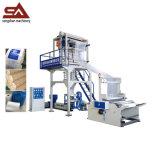 La fabricación profesional Customerized rotatorio muere la máquina soplada de la película plástica