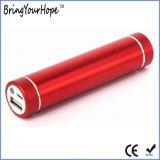 banco da potência do cilindro da iluminação do diodo emissor de luz 2500mAh (XH-PB-004L)