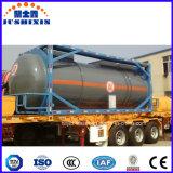 Chemischer Becken-Behälter des Kohlenstoffstahl-20FT Corrusive für Sattelschlepper