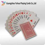 tarjetas que juegan negras del papel de base 310GSM para el casino