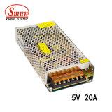 Smun S-100-5 Stromversorgung der Qualitäts-100W 5VDC 20A LED