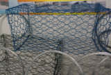 GabionのケージまたはGabionのバスケットまたはGabionの壁のためのGabionの安い網中国製