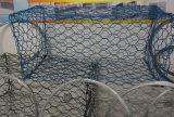 Gabion 감금소 Gabion 바구니 또는 Gabion 벽을%s Gabion 싼 메시 중국제