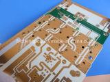 Micro-ondes PCB double face faites sur 1.5mm RO4350b avec finition or