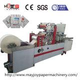 Una servilleta de tejidos máquina de impresión con relieve y el doble de color