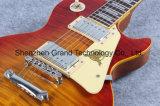 Do Reissue Sunburst do estilo do Lp da cereja do vintage guitarra elétrica (GLP-52)
