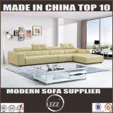 2017 Haus verwendetes echtes Leder-Sofa für Wohnzimmer