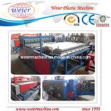 Maquinaria de Extrusión de Planchas de Plástico PVC para Tejados (SJSZ-80/156)