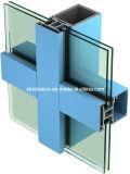 Profils en aluminium/en aluminium d'extrusion pour le double guichet en verre