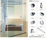 浴室のためのガラス単一の引き戸のハードウェアB009の使用