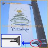 Via palo chiaro del metallo che fa pubblicità al meccanismo del segno (BT-BS-044)
