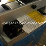 Couleur quatre pliant l'imprimante automatique de garniture de grille de tabulation en bois
