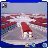 Tettoia pre costruita dell'azienda agricola della gallina del pollo della struttura d'acciaio delle costruzioni del metallo