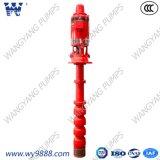 Pompa ad acqua verticale del fuoco elettrico di Trubine