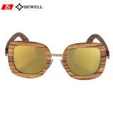 100% revestidos de artesanato em madeira de lentes de óculos de sol