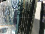 Plakken van de Steen van het Agaat van China de Blauwe Halfedel voor Decoratie