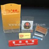 Menu acrylique et contre- présentoirs (XBL-MS01)