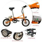 14 pulgadas un segundo aprisa plegable la bicicleta eléctrica