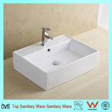 Lavabo rectangulaire de types de bassins de lavage
