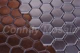 Estilo Moderno Hexágono 316 del acero inoxidable y de la decoración del mosaico (CFM730)