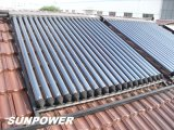 Calor Pipe Solar Collector con el CE Certificate