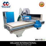 CNC van het aluminium Dubbele Hoofd Scherpe Machine (vct-W1530ATC8)