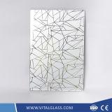 装飾的な酸はセリウム、ISOが付いている芸術ガラスをエッチングした