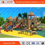 Corrediça de madeira do parque de diversões do slider das crianças para a venda (HD-MZ023)
