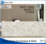 GroßhandelsquarzCountertop für Hauptdekoration-Baumaterial mit SGS-Report (Marmorfarben)