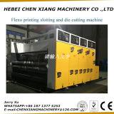 홈을 파기 인쇄하는 Cx 2600 자동적인 Flexo는 절단기를 정지한다