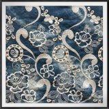 Merletto tessuto Legare-Tinto del ricamo dell'occhiello del poliestere del merletto del ricamo