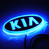 Свет значка логоса автомобиля 4D СИД для KIA