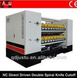 El cartón ondulado de corte helicoidal 2500 Los controladores dobles