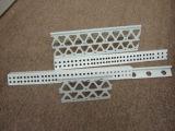 PVC 코너 구슬 2.5  날개