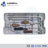 Clavo de Canwell Cannulated, conjunto ortopédico del instrumento del clavo que se enclavija