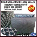 Schermo di pubblicità ultra luminoso esterno di P10 video LED
