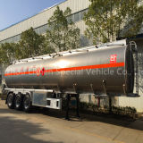 3-as 42000L Tank Semi Trailer voor Fuel Delivery