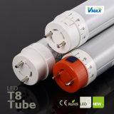 19W T8 LED Gefäß-Licht mit TUV, ETL, SAA, CER, RoHS CERT. Gefäß-Licht /T8-LED