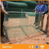 Heiße eingetauchte galvanisierte sechseckige Gabion Kasten-Draht-Filetarbeit