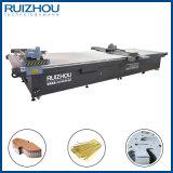 Máquina de estaca de couro de oscilação -2 da faca do CNC