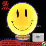 LED 12V 220Vのホーム壁の装飾のためのアクリルの微笑の表面卓上スタンドのデスクトップの軽いネオンサイン