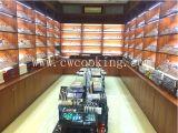 126pcs/128 pcs/132pcs/143pcs/205pcs/210pcs miroir polie de la coutellerie en acier inoxydable de haute classe vaisselle (CW-C2013)