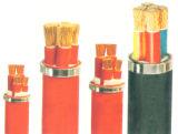 Cable de transmisión del caucho de silicón