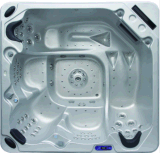 2 Meter 5 Person 102 Jet 3 Seats Square Acrylic Jacuzzi mit 2 Lounges