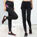 Duas peças de ioga de alta qualidade exercício conjunto de calça Perneiras Workout Perneiras